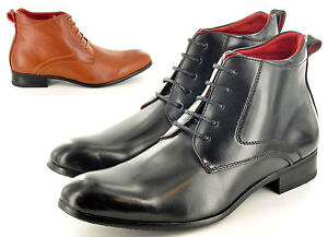 New-Mens-Italian-Style-Leather-Lined-Formal-Chelsea-Ankle-Boots-UK-Sizes-6-12