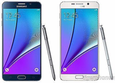 Unlocked Samsung Galaxy Note 5  32GB 4G Bell Rogers Fido Telus Koodo