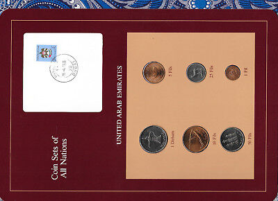 Used, Coin Sets of All Nations UAE United Arab Emirates UNC 1973-1984 15-4-1985 for sale  Hodgenville