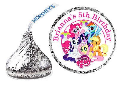 108 MY LITTLE PONY BIRTHDAY PARTY FAVORS HERSHEY KISS KISSES LABELS](My Little Pony Favors)
