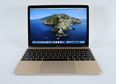 "STELLAR 12"" Apple MacBook 2015 Retina 1.1GHz Core M 8GB RAM 256GB GOLD +WARRANTY"