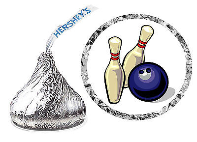 Bowling Party Favors (216 BOWLING BIRTHDAY PARTY FAVORS HERSHEY KISS)
