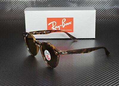 RAY BAN RB2180 710 83 Shiny Dark Havana Polarized Brown 49 mm Unisex (Ray Ban Shiny Havana)