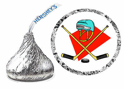 216 HOCKEY BIRTHDAY PARTY FAVORS HERSHEY KISS