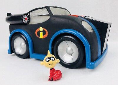 Disney Pixar The Incredibles Baby Jack Jack Figure Cake Topper w/ Talking Car - Baby Jack Jack