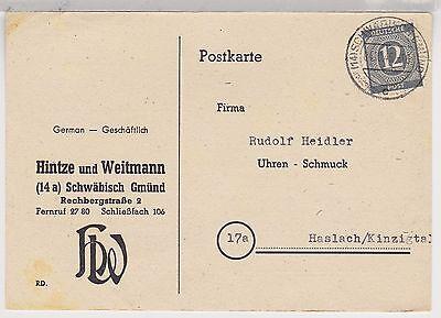 All.Bes./Gem.Ausg., Mi. 920 EF, Schwäbisch Gmünd, 4.10.46