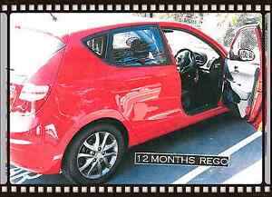 2011  Hyundai i30 SLX Red DIESEL 12 months REGO!!!!! Fairy Meadow Wollongong Area Preview