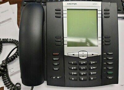 Aastra 6757i Large Display Office Phone Works