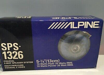 ALPINE SPS-1326 2-Way Speaker System