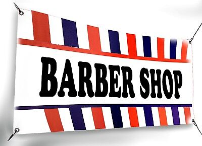 Barber Shop Banner Sign Size 18x48 24x72 Perfect For Outside Use