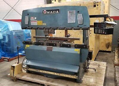 Amada Rg-50 Hydraulic Press Brake New 1983
