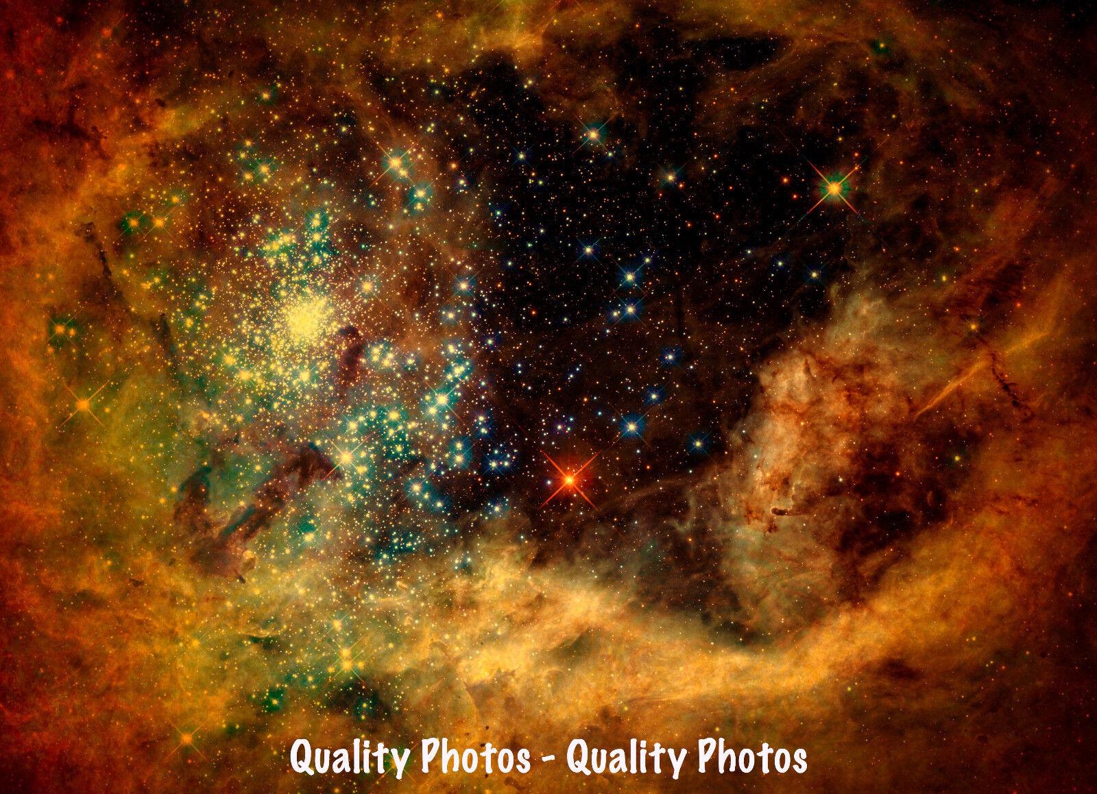 Tarantula Nebula Yellow Shift 8 5x11 Quot Photo Print Hubble