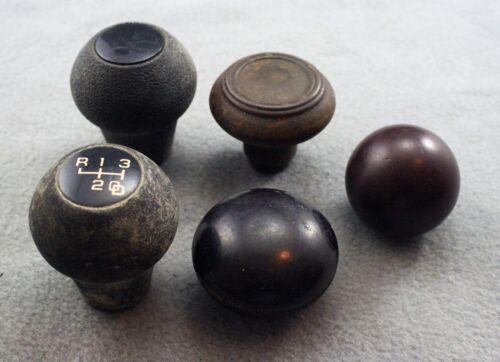 Lot of 5 Vintage Gear Shift Knobs
