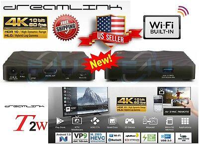 Dreamlink T2w IPTV Quadcore Android 7 + PVR recording IPTV 4K UHD Built In WiFi