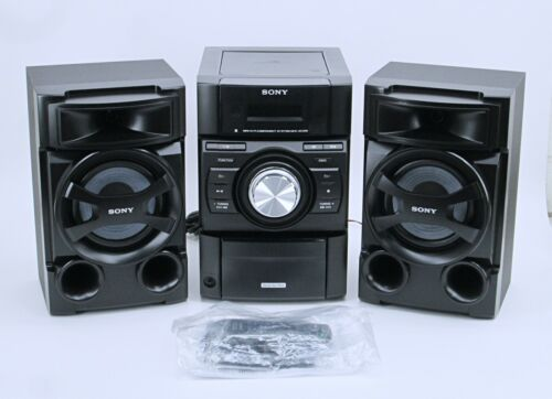 Sony Stereo Mini System MHCEC69i Black with Speakers