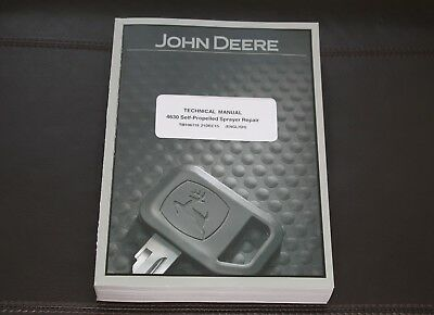 John Deere 4630 4630 Wp-2271 Self-propelled Sprayer Service Repair Manual