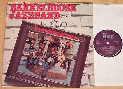 BARRELHOUSE JAZZBAND - You Are Driving Me Crazy  (BELLAPHON 1976 / LP NEAR MINT)
