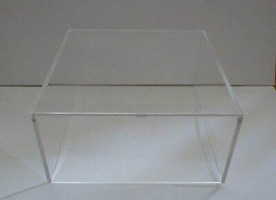 12 X 12 X 6 Acrylic Lucite Clear Display Case Cover Lid No Base