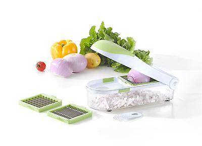 Vinsani Kitchen Vegetable Cutter Onion Vegetable Fruit Cutter Chopper Slicer