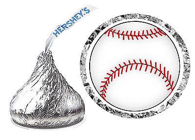 216 BASEBALL BIRTHDAY PARTY FAVORS HERSHEY KISS LABELS (Baseball Party)