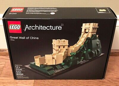LEGO Architecture Great Wall of China 21041, Brand New Retired - Authentic!