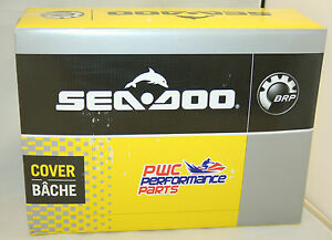 SeaDoo-2009-2013-GTX-iS-RXT-iS-215-260-Black-Gray-PWC-Cover-OEM-BRP-280000460