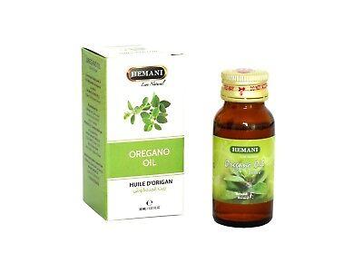 HEMANI Oregano Öl 30ml Premium Qualität Oreganoöl Origanumöl Origanum vulgare
