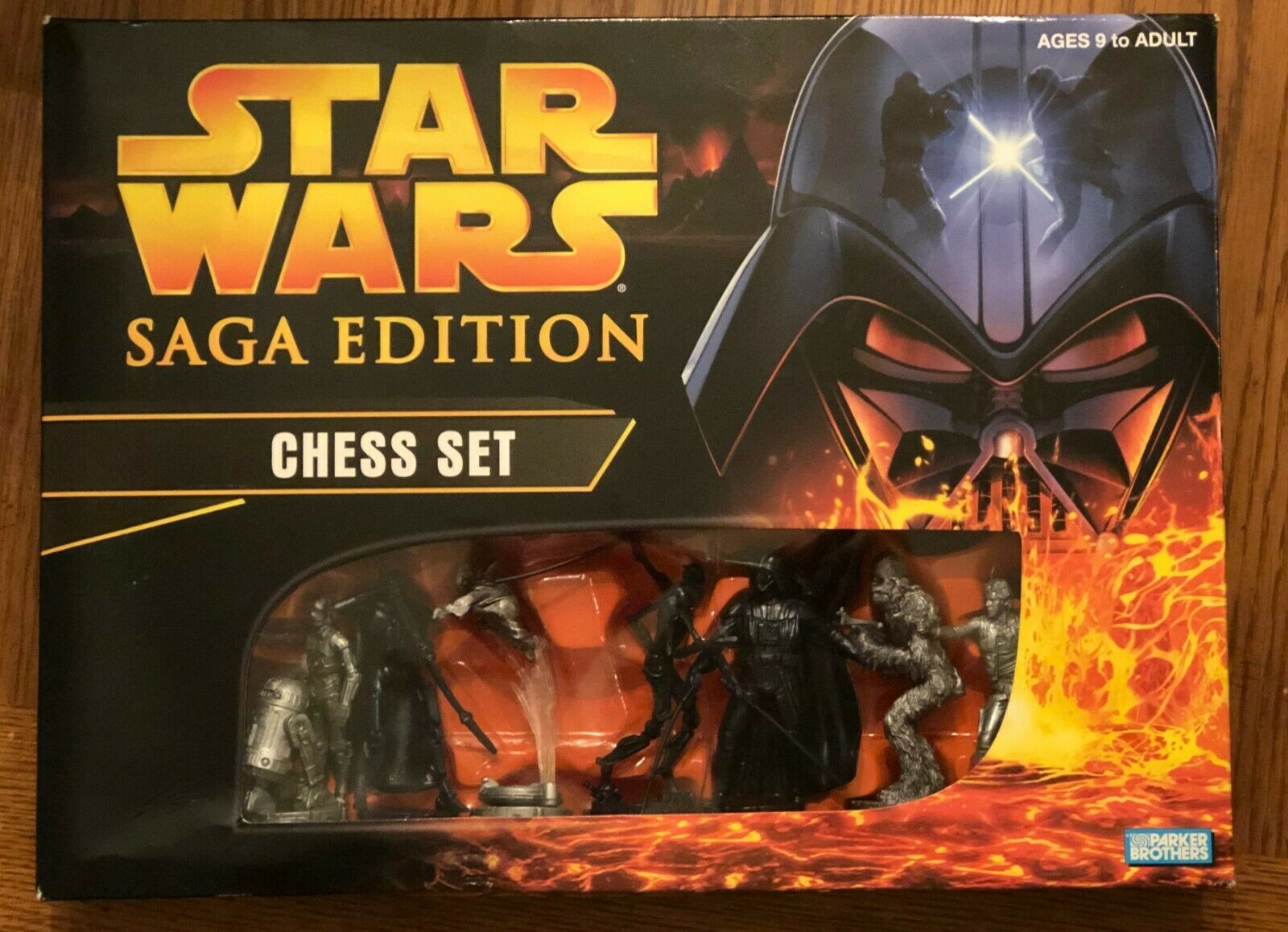 star wars saga edition chess set sculpted
