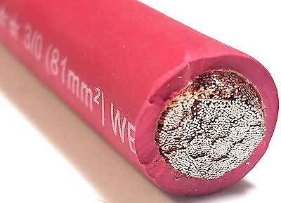30 Excelene Welding Battery Cable Red 600v Usa 105c Epdm Jacket Buy Per Foot