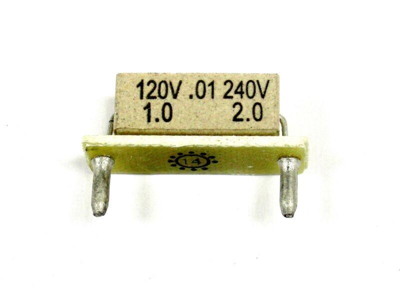 KB Electronics KB-9843 horsepower resistor 1hp @ 90-130vdc -- 2hp @ 180vdc