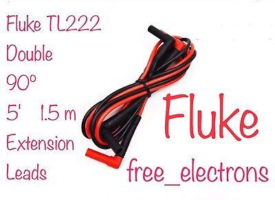 Fluke Tl222 Multimeter Test Lead Extensions Tl221 Tl224 Ac285 Tp1 Tp2 Tp220 Tl71