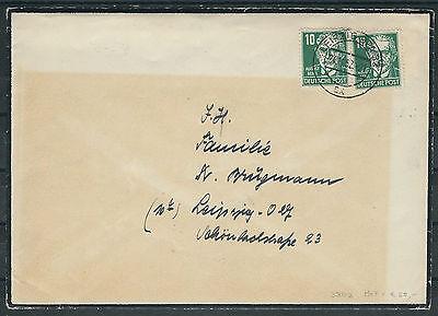 SBZ-DDR Mi.Nr. 330 als MiF auf schwarzem Ortsbrief