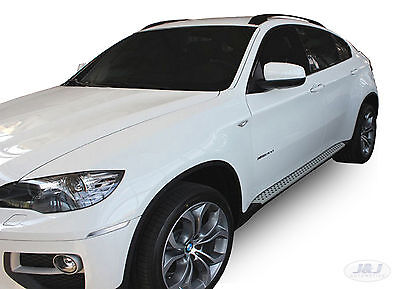 RB022 Side steps BMW X6  E71 / E72  2008/ 2014  OEM style  Running Boards