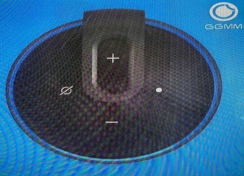GGMM D3 Portable Battery Base for Echo Dot 3rd Gen Black