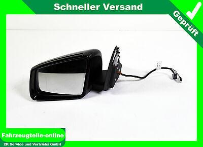 Mercedes C Klasse 204 Außenspiegel Seitenspiegel links Schwarz Uni 040U