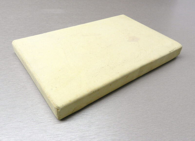 """CERAMIC BOARD SOLDERING MELTING PLATE JEWELRY BENCH HEAT TILE 8"""" x 10"""" x 1""""THICK"""