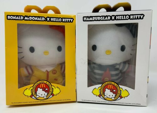 Sanrio Hello Kitty x Hamburglar Ronald McDonald