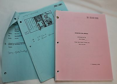 Inventing the Abbotts *1996 Storyboards & Screenplay Liv Tyler & Joaquin Phoenix