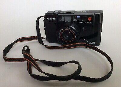 """CLASSIC, CANON """"AF35M """" 35mm camera 38mm f2.8 CANON lens"""