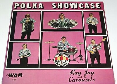 "FACTORY SEALED RAY JAY & CAROUSELS POLISH RECORD LP ""POLKA SHOWCASE"" SEALED for sale  Shipping to India"