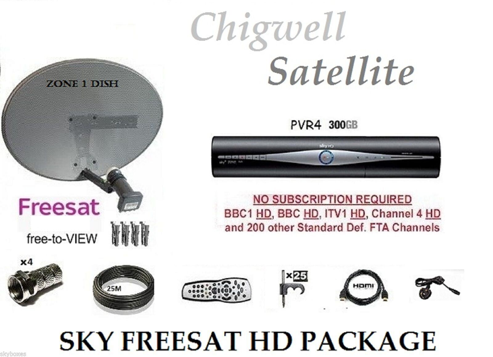 Sky Freesat Channels