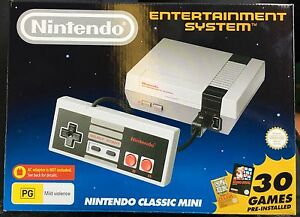 NES CLASSIC MINI - BRAND NEW Kensington Melbourne City Preview