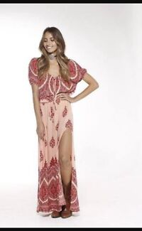Arnhem Clothing Mandala Maxi in Peach