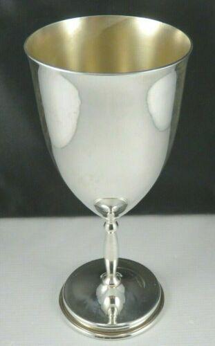 Large Sterling Silver Goblet