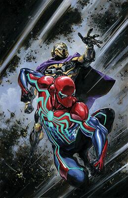 SPIDER-MAN VELOCITY #1 CRAIN VIRGIN VARIANT MARVEL COMICS PS4 GAMERVERSE W/COA