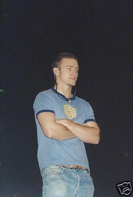 "Justin Timberlake 4"" x 6"" Photo #4 NSync N Sync"