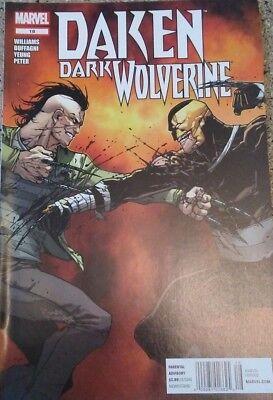 Daken Dark Wolverine #18  Marvel 2012 Comic Book ( Free Shipping )