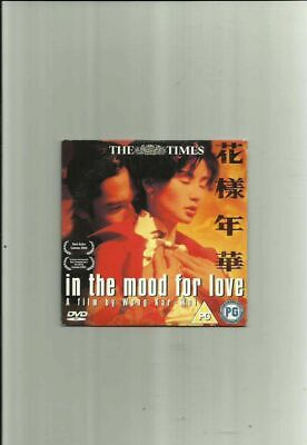 IN THE MOOD FOR LOVE (2000) NEWSPAPER PROMO DVD