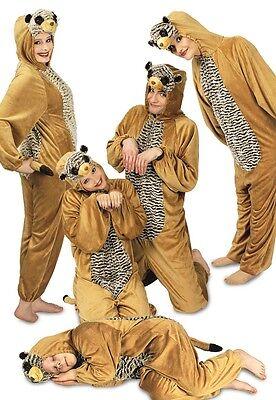 Kostüm Erdmännchen Overall Gr 98 104 116 128 140 38 40 48 50 52 - Erdmännchen Kostüm