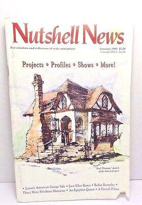 Nutshell News Dollhouse Magazines Robin & Shawn Betterley